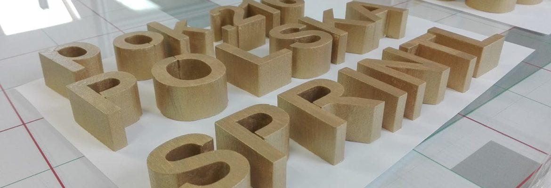 litery przestrzenne