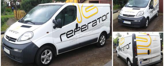 reperator Ruda Śląska - oklejenie samochodu
