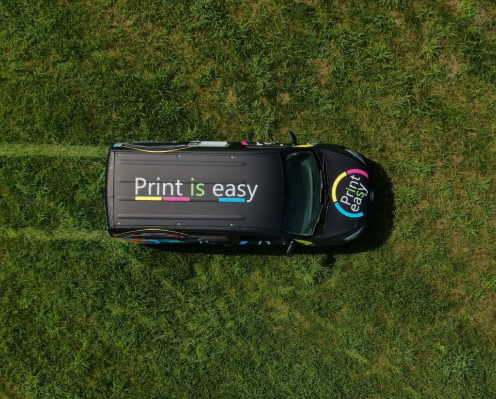 Oklejenie samochodu - Print Is Easy