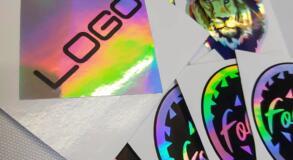 naklejki holograficzne śląsk