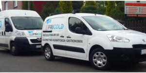 Oklejenie samochodu dla Fricold Ruda Śląska