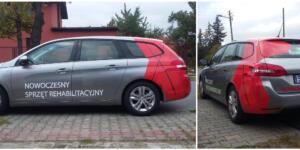x - oklejenie samochodu